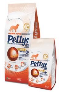 MSM Pet Food pettys-medium-adult-pollo