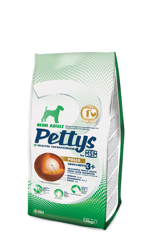 MSM Pet Food pettys-mini-adult-pollo-1,5-adult-pollo