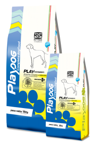 MSM Pet Food Play Dog Play