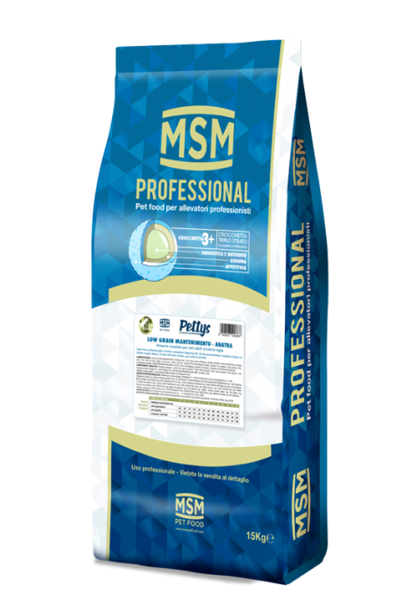 MSM Pet Food Sacco Professional